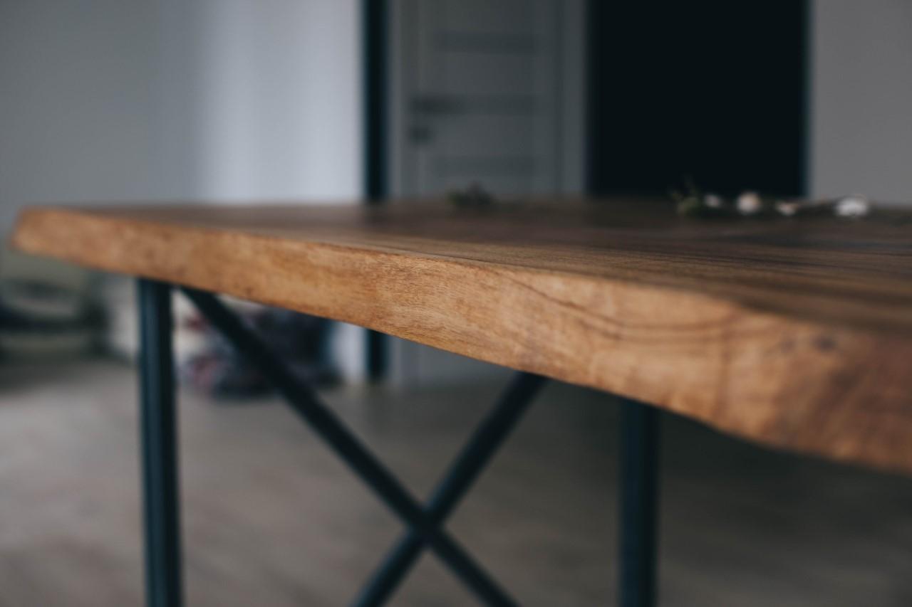 Tischgestell Metall von Eichenholzprofi